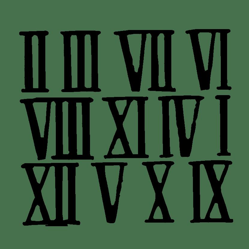 Reglas De Los Números Romanos Qué Símbolos Romanos Hay