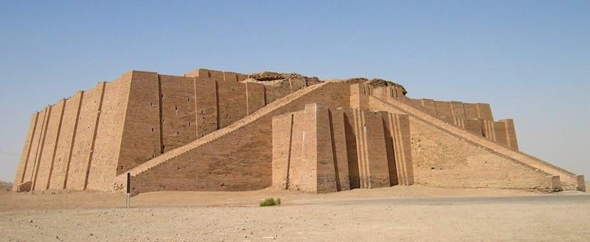 Arquitectura típica de Mesopotamia