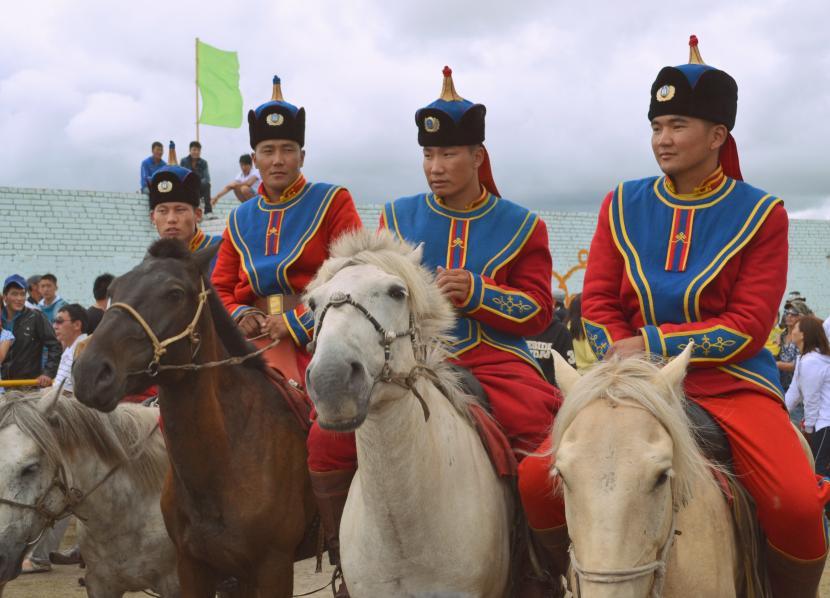 Guerreros de Mongolia