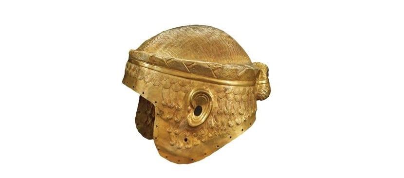 La metalurgia en Mesopotamia y uno de sus cascos
