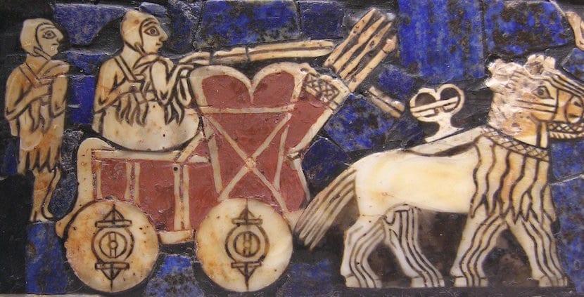 La rueda en Mesopotamia