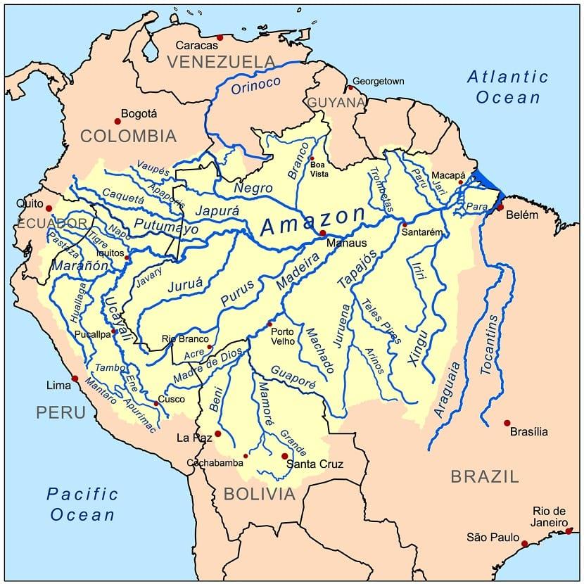 Ríos del Perú