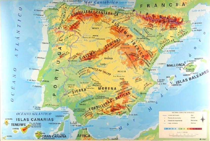 Que Son Los Mapas Fisicos Y Los Mapas Politicos