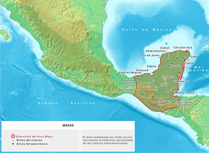 Región de los mayas
