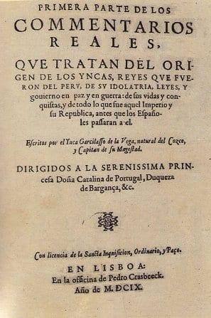 Obras Literarias De Garcilaso De La Vega Cultura 10