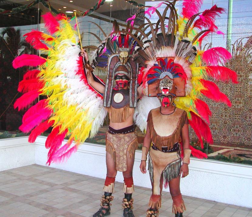 Vestimenta maya típica