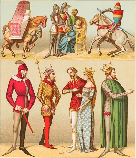 último clasificado precio atractivo buscar genuino Vestimenta Medieval: Ropa de la Edad Media