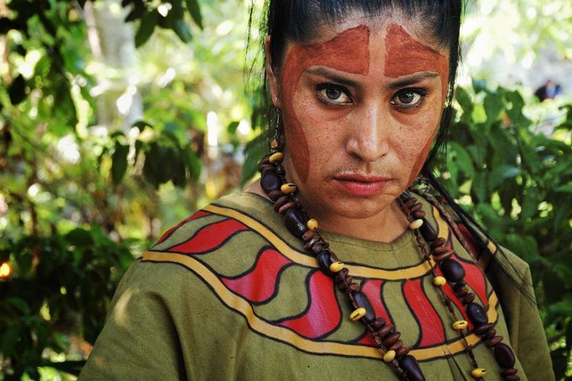 Vestimenta mayas en mujeres