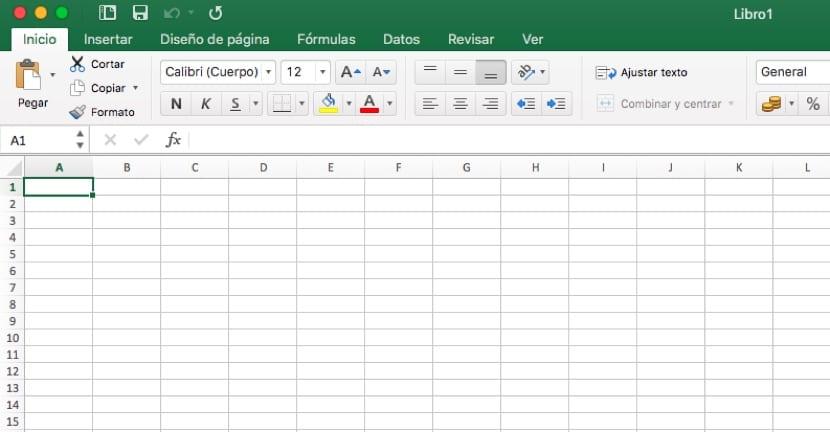 Hoja de cálculo para crear tabla de doble entrada