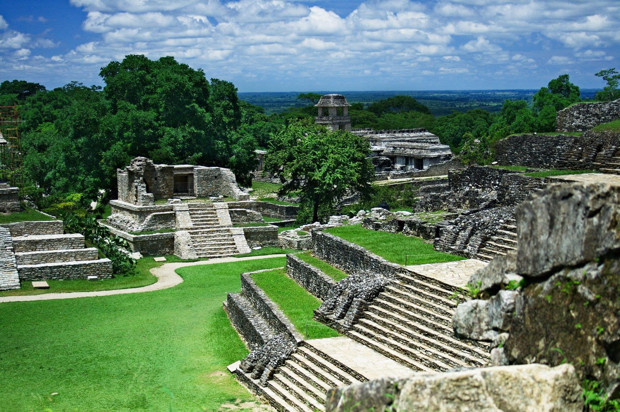 Ciudad con costumbres mayas