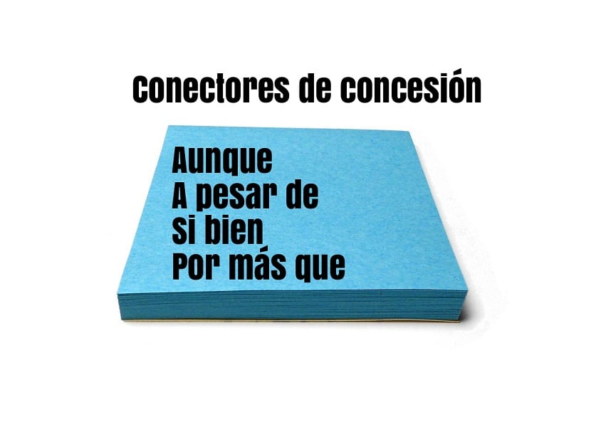 Conectores lógicos de concesión