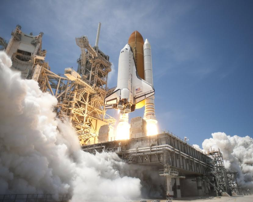 Cohete espacial de la Nasa