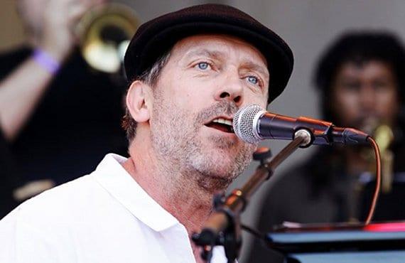 Hugh Laurie cantante
