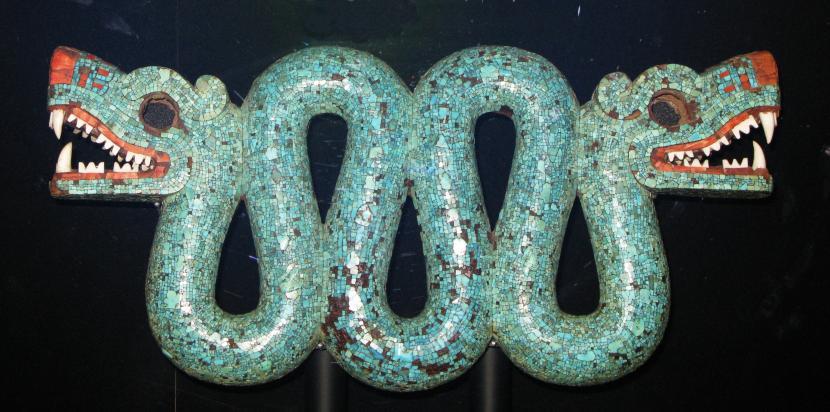 serpiente azteca