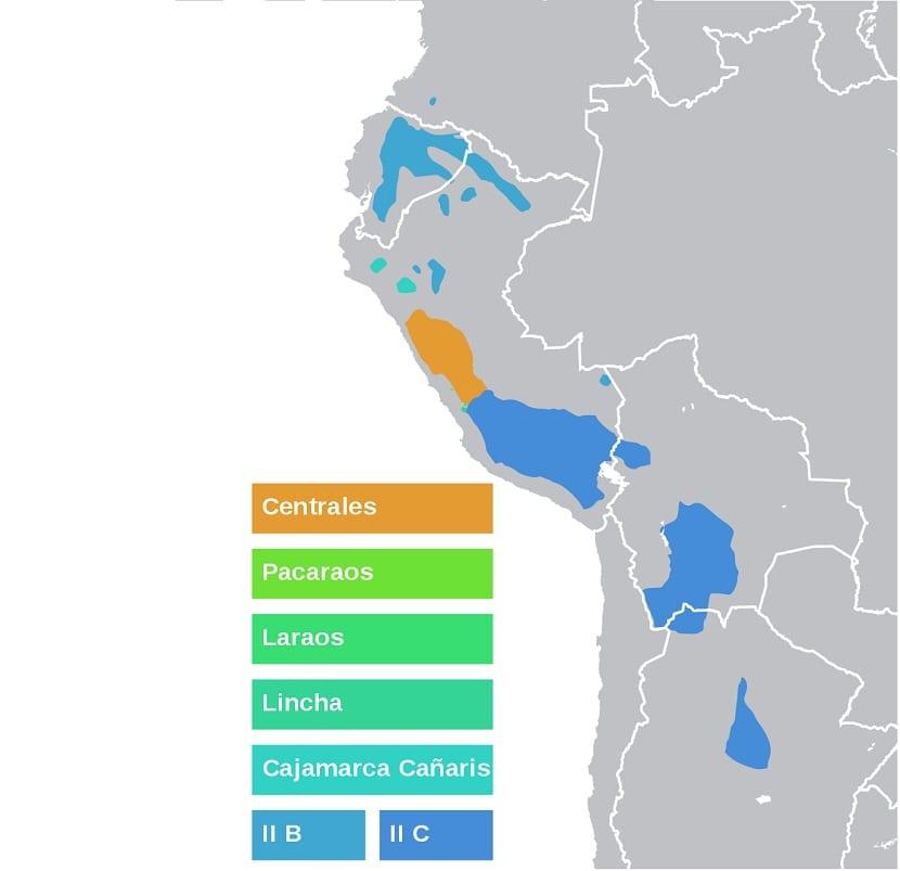 Dialectos del quechua