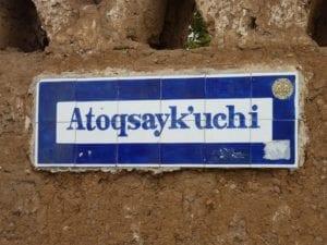 Letras en quechua