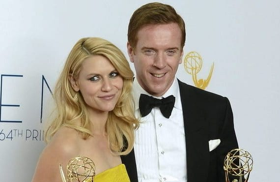 Claire Danes, Damian Lewis, Emmy 2012
