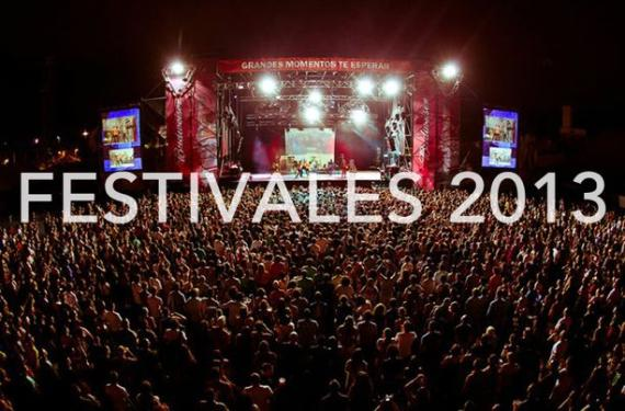 Festivales 2013