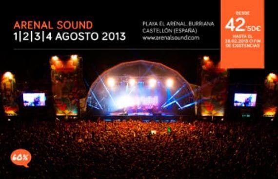 Cartel Arenal Sound 2013