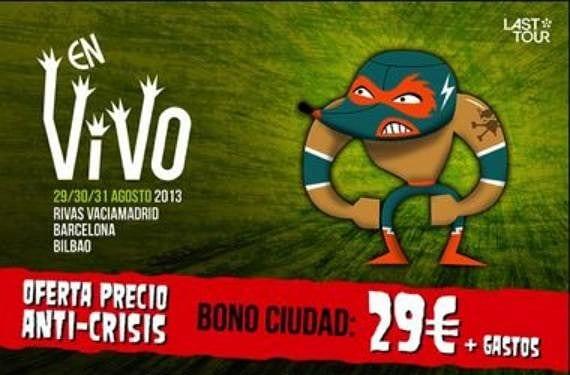 Cartel En Vivo 2013