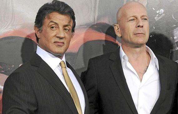 Stallone y Bruce Willis