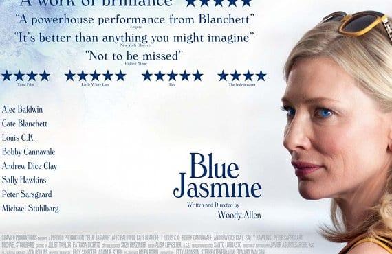 'Blue Jasmine', poster