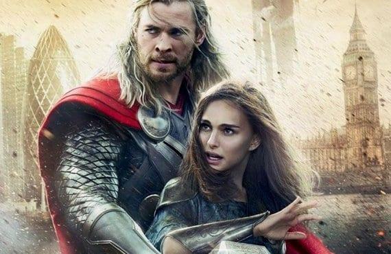 Thor Mundo Oscuro, cartel
