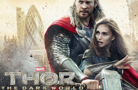 Thor mundo oscuro poster