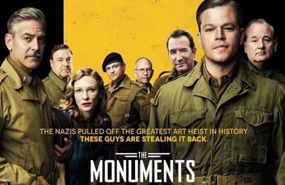 Cartel de 'Monuments Men'