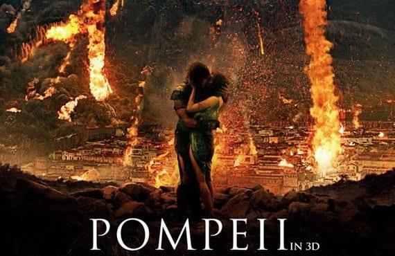 Cartel de la película 'Pompeya'