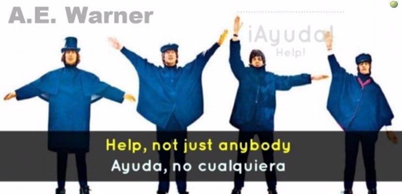 """The Beatles, videoclip subtitulado de """"Help"""""""