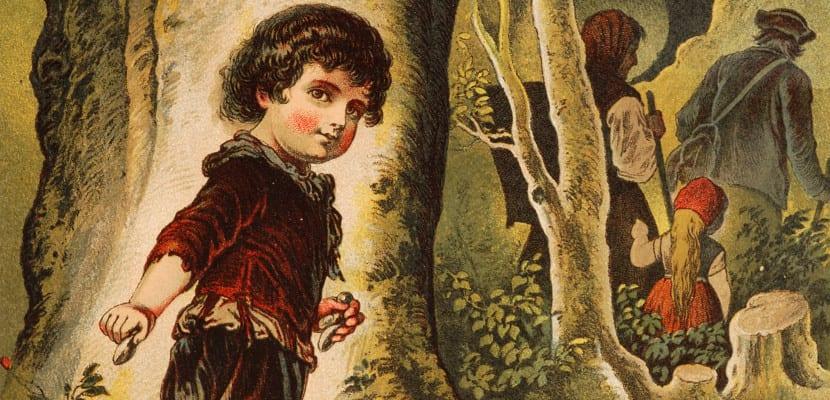 Ilustración clásica del cuento 'Hansel y Gretel'
