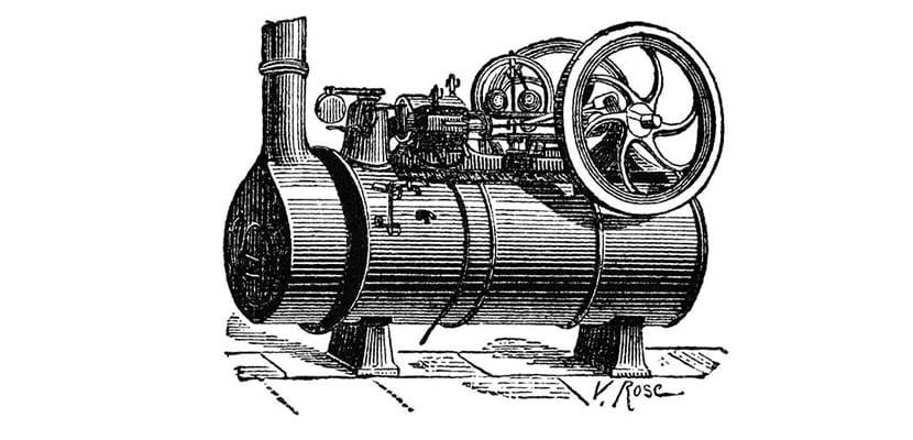 Maquina vapor