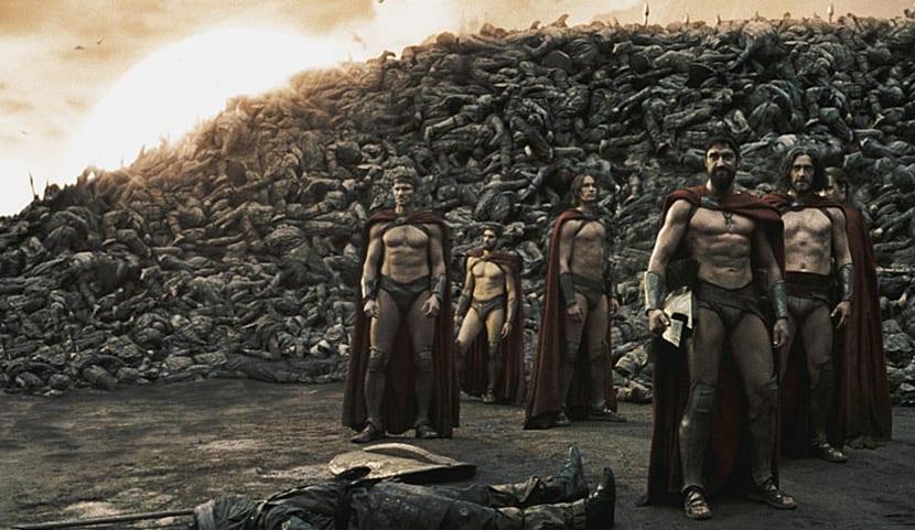 Fotograma de la película '300'