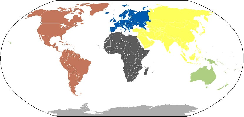 Continentes