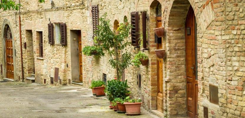 Calle en Toscana