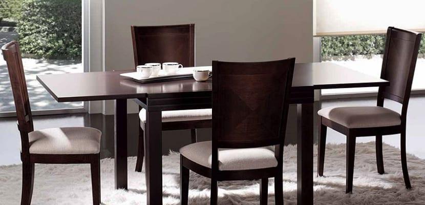 Cu l es la altura ideal de una mesa de comedor for Mesas de comedor becara