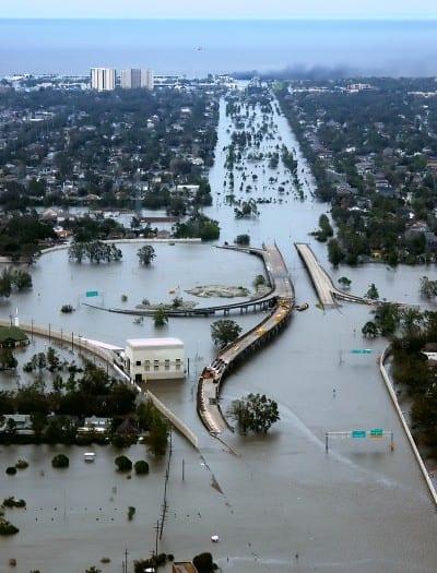 Nueva Orleans tras el paso del Katrina