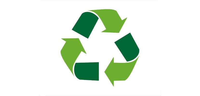 Símbolo del reciclaje