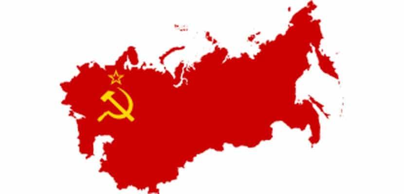 Mapa de la URSS