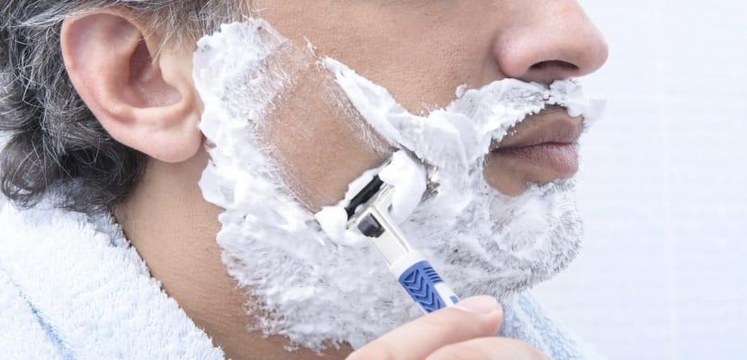 Espuma afeitar