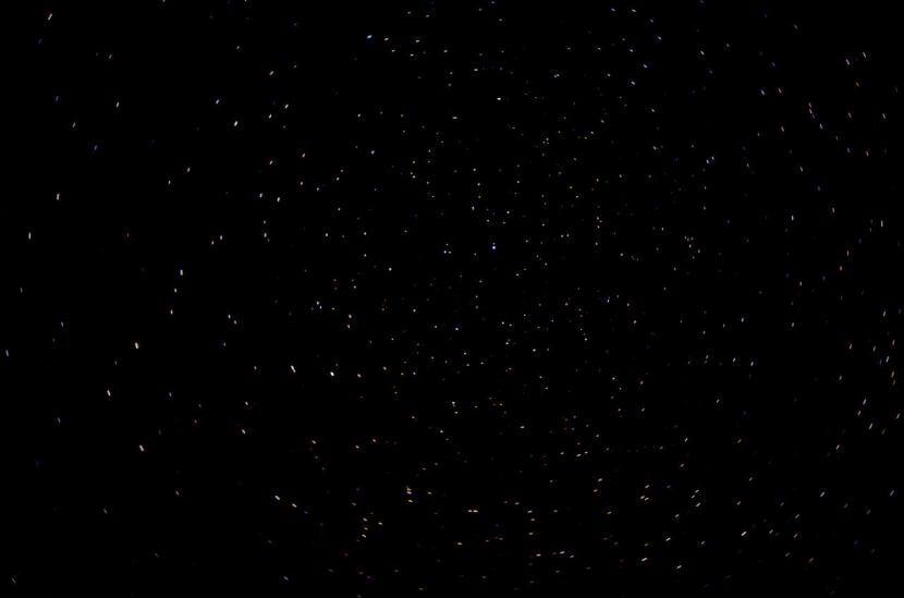 Estrellas visibles