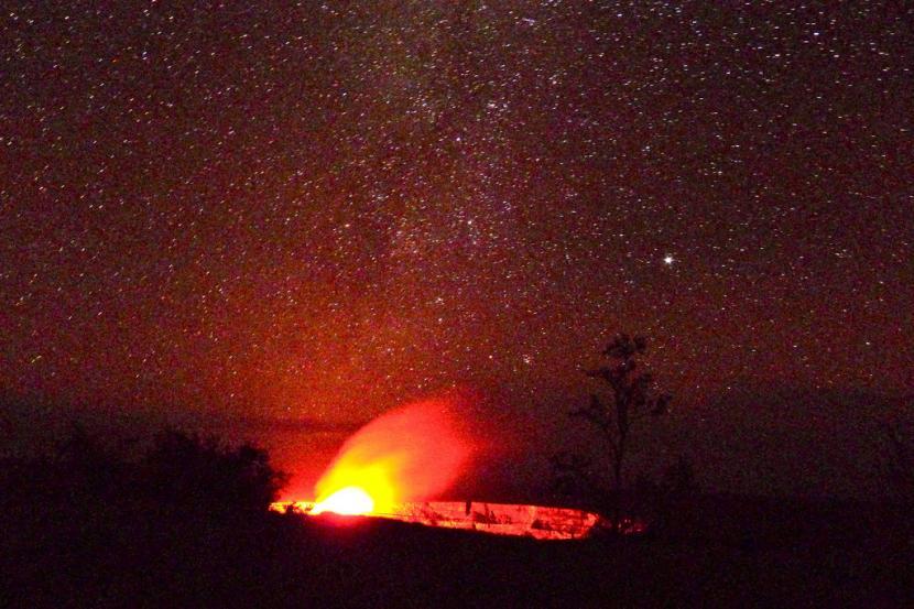 erupción del volcan kilauea