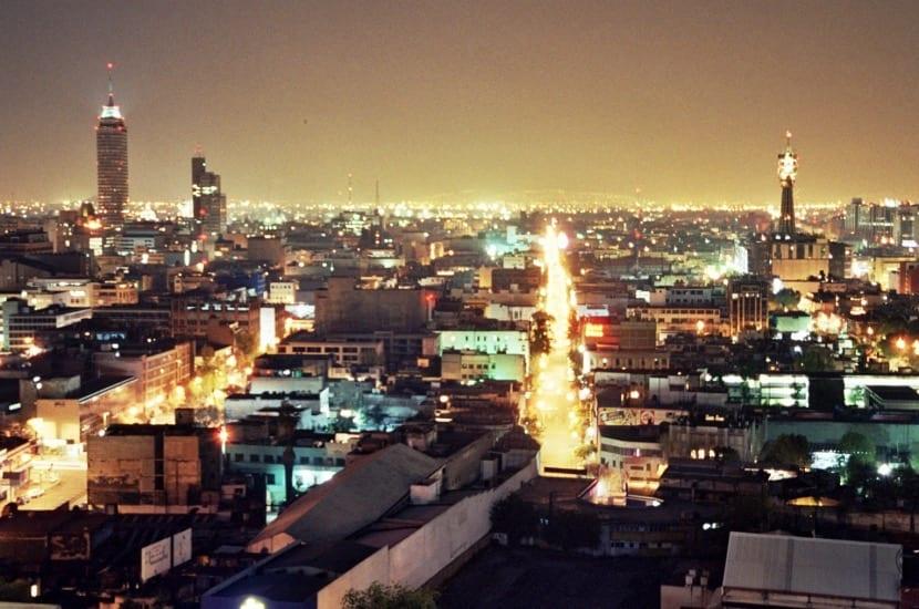 Contaminación lumínica en México