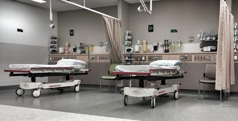 camas geriátricas o eléctricas usadas en los hostipales