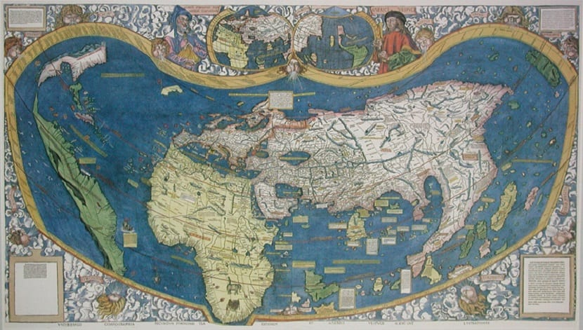 Mapamundi ptolomeo