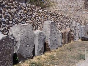 Piedras talladas por zapotecos